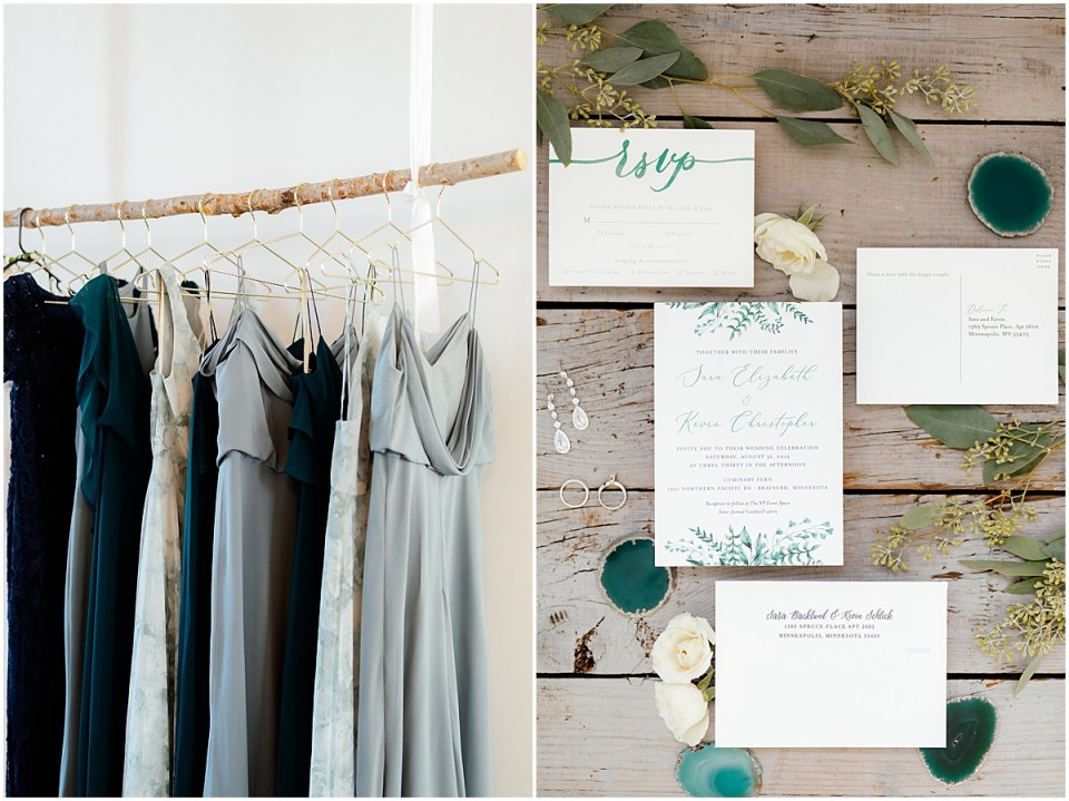 The Loft at NP Event Space Wedding Detail Photography