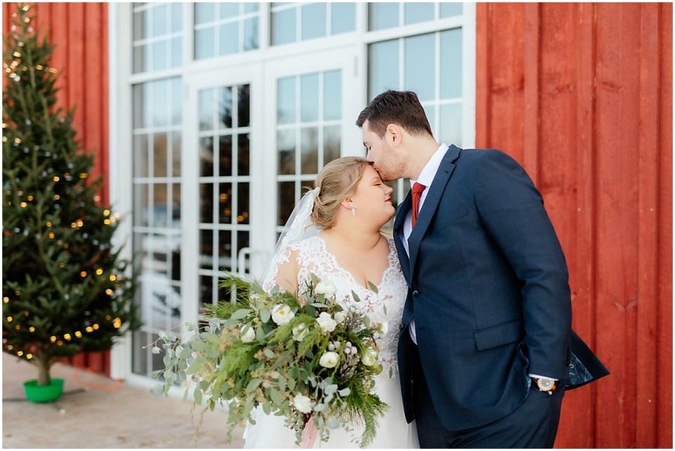 Almquist Farm Winter Wedding