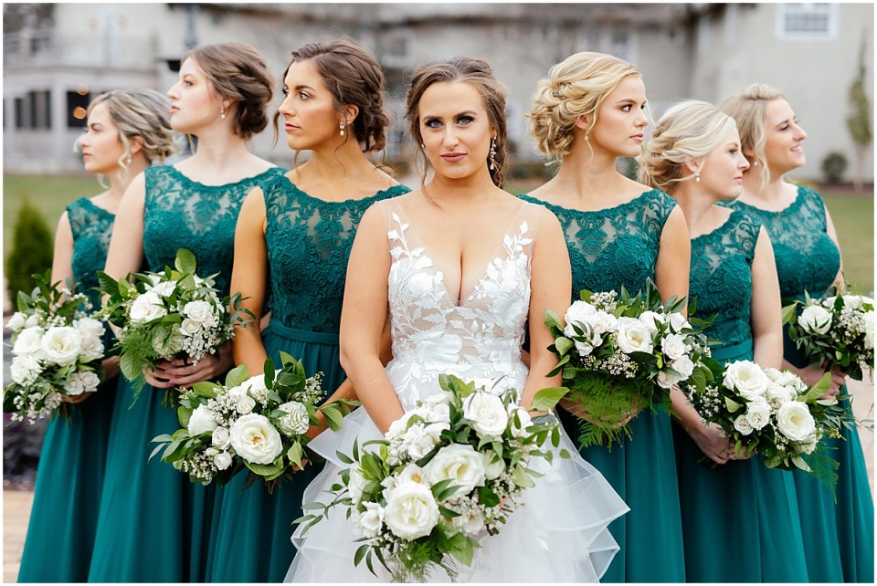 Bavaria Downs Wedding with Bridesmaids