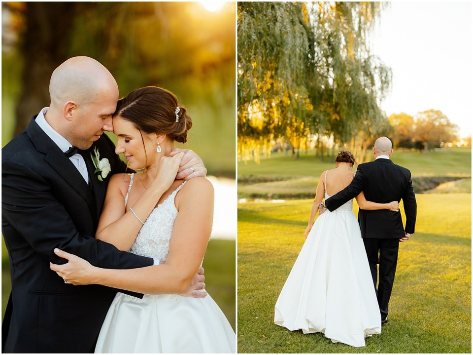 Brackett's Country Club Fall Wedding