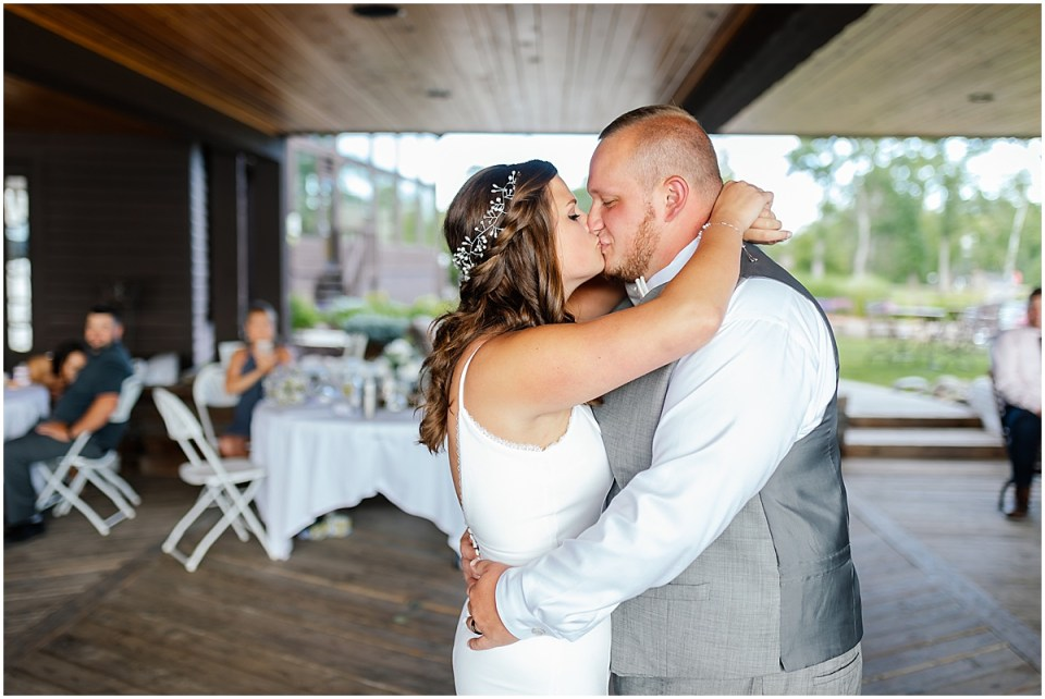 First dance at Madden's on Gull Lake