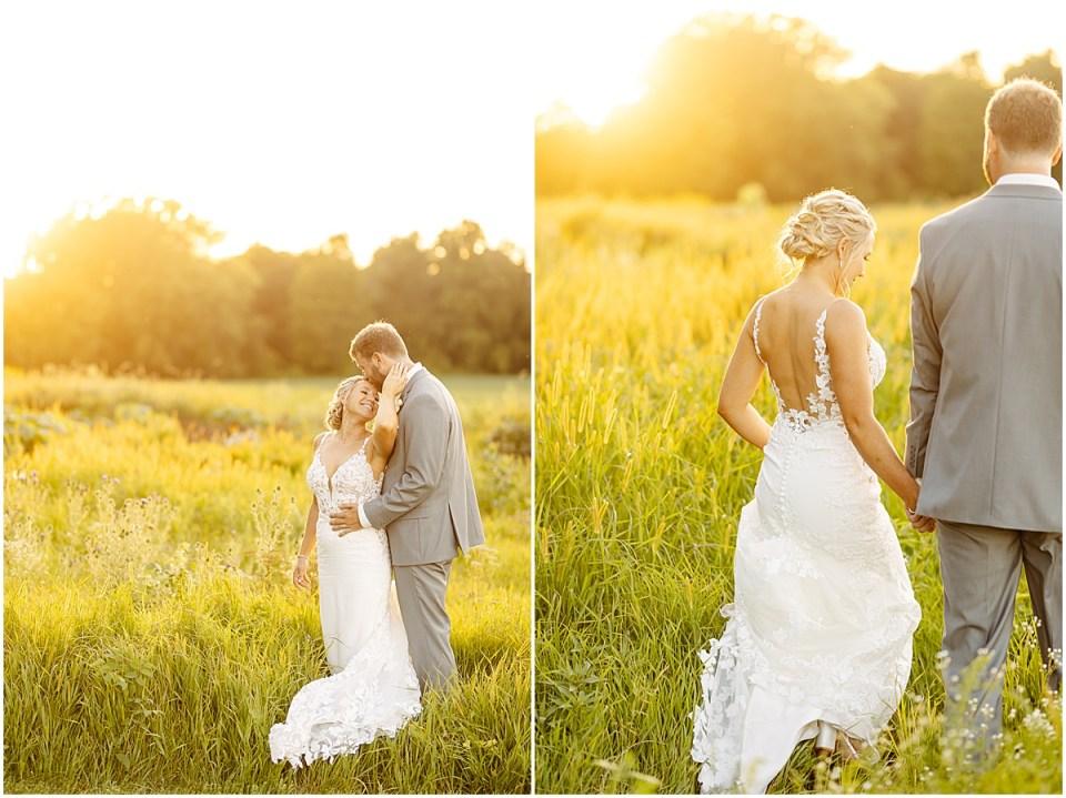 Sunset photos at mayowood field