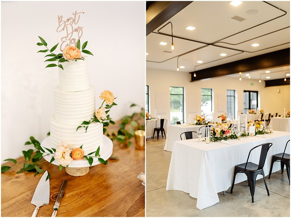 Dinner and reception at Pinewood Weddings & Events