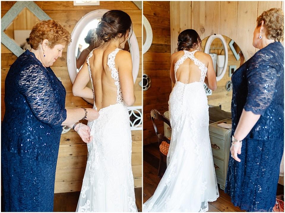 bridal suite at Almquist Farm MN