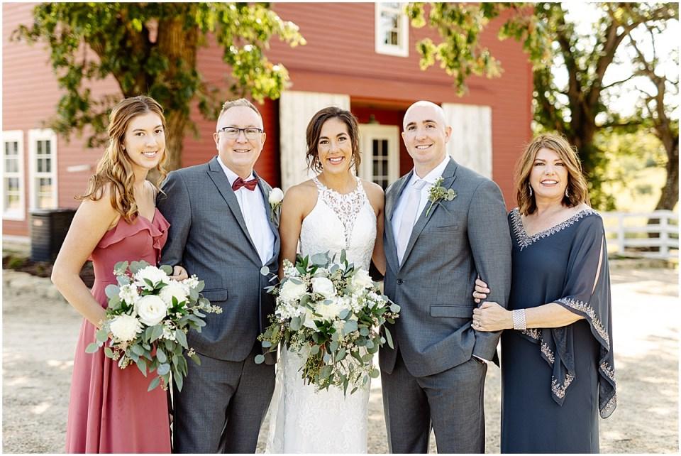 family photos at Almquist Farm MN