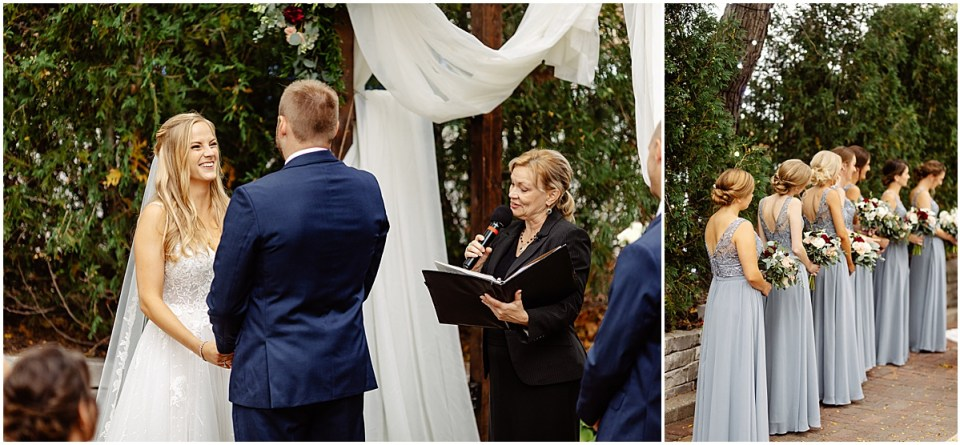 outdoor ceremony at the grand 1858 minneapolis