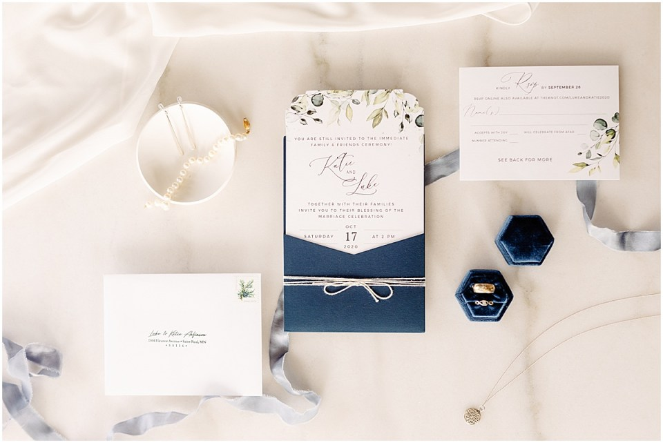 simply to impress wedding stationary