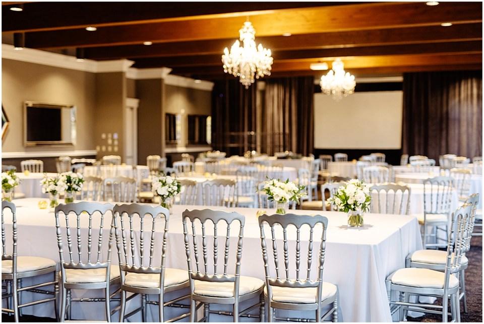 inside reception at Leopold's Mississippi Gardens Wedding