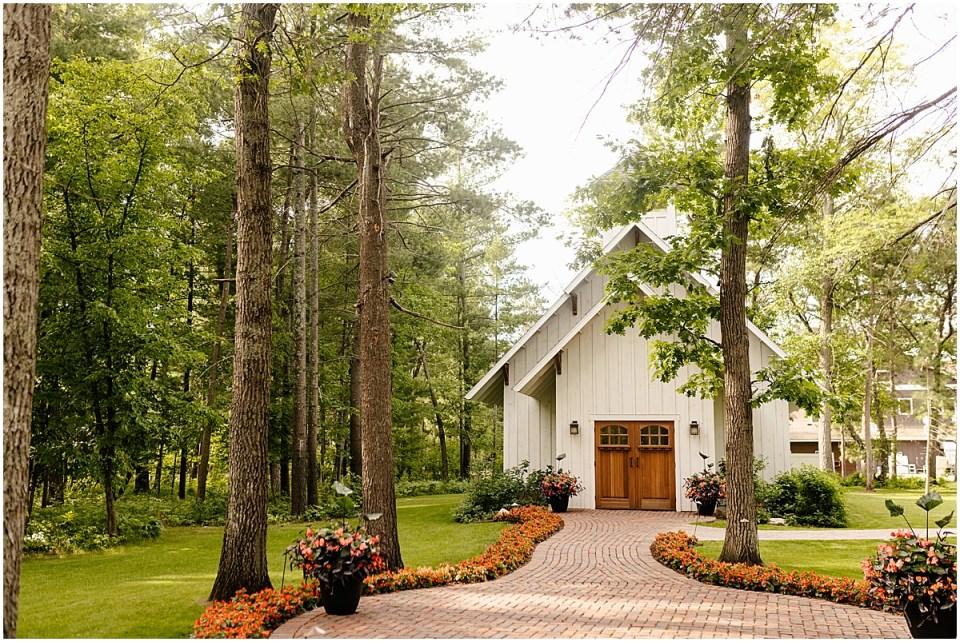 Grand View Lodge Chapel on Gull Lake