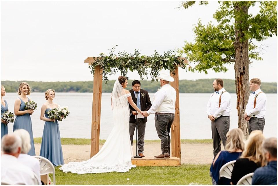 Wedding Ceremony at Madden's Resort