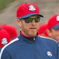 John Wood PGA Tour Caddie