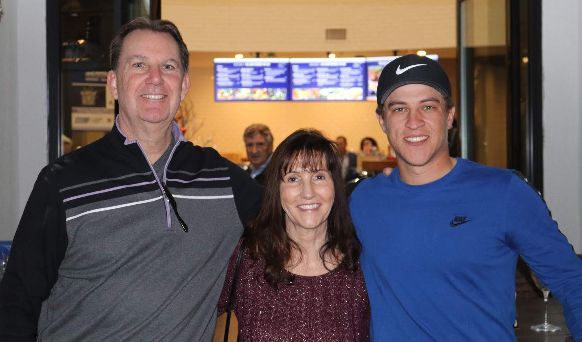 Cameron Champ Foundation holiday gift drive party