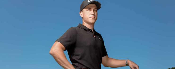Cameron Champ portrait from Golf Magazine
