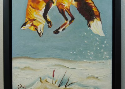 2017-01 - Cameron Dixon Painting - Fox Pounce 1 -complete-web