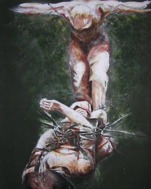 1999 – Original Painting by Cameron Dixon – Loom