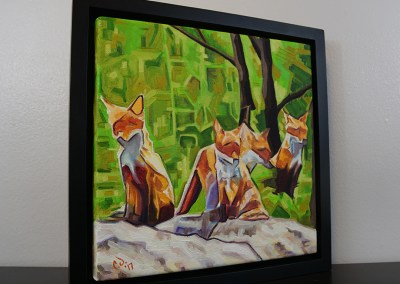 DSC00058 - 2017-03 - Painting - Fox Cub Four 1080px-frame-right-cameron-dixon