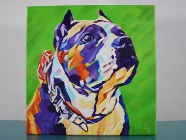 Pop Art Pet Painting - Athena - Cameron Dixon -