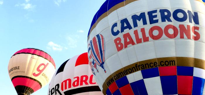 contact cameron balloons france