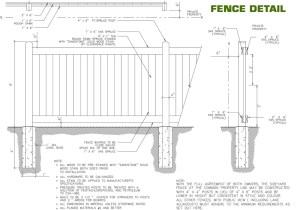Fencing Requirements | Cameron Heights Home Owners Association