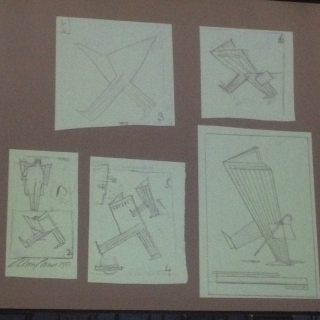 Abram Games, rough designs and sketches