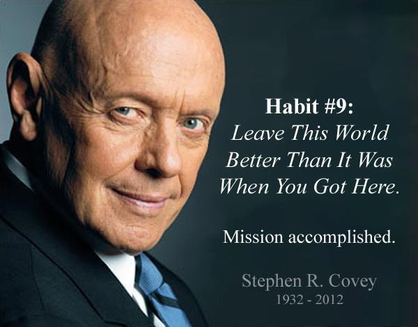 The No Illusions Podcast #48 – Stephen Covey and a Principle-Centered Life