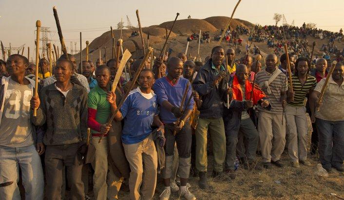 Lonmin Marikana Police Massacre