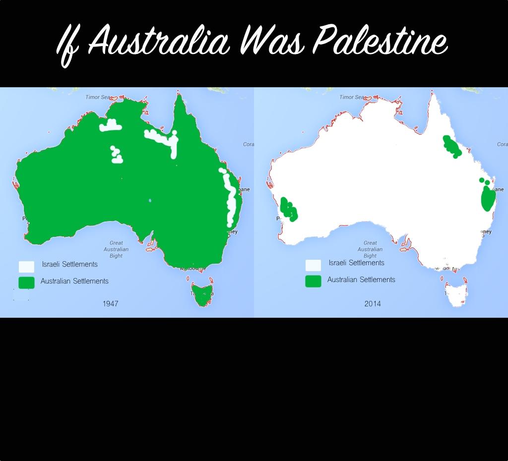 If Australia Was Palestine