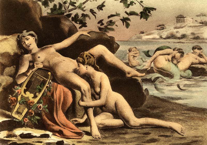 Édouard-Henri Avril - Lesbians
