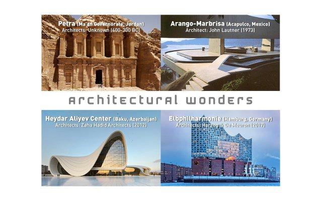 architectural wonders, curiosities