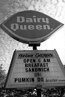 Dairy Queen Pumkin!
