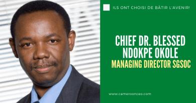 Chief Dr Blessed Ndokpe Okole, brillant biotechnologiste et dirigeant d'entreprise au Cameroun
