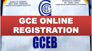 GCE online registration in Cameroon