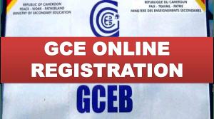 GCE online registration in Cameroon