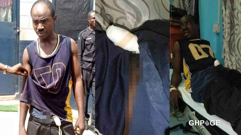VIDEO: LADY WHO BIT AN ARMED ROBBER'S MANHOOD TELLS HOW IT ALL HAPPENED