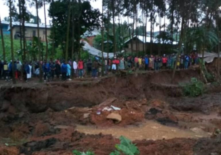 Cameroun : Un glissement de terrain fait environ 40 morts et 50 disparus à Bafoussam (Vidéos)