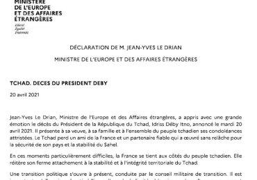 """""""Commanditaire"""" de la mort du françafricain Deby, Paris valide le putsch et envoie Macron défier le FACT sur place à Ndjamena"""
