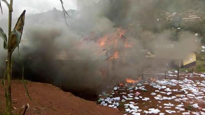 cameroun :: Cameroun - Faits divers Tensions sociales: Emeutes à Foumbot ::