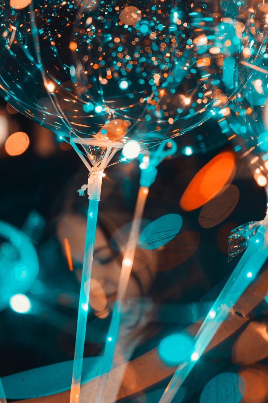 abstract blur bokeh bright