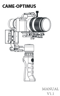 User Manuals for CAME-TV Gimbals