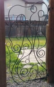 iron art gate