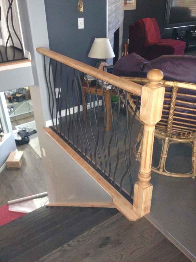Lethaby Project BENT Iron Art Railing midway 3