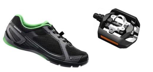 Schoen en een pedaal