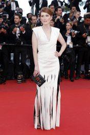 Julianne Moore, em Louis Vuitton, 13/05.
