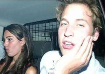 Kate e William saindo da balada