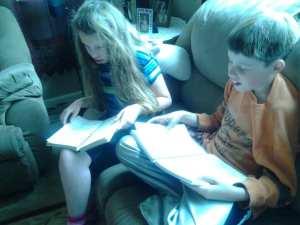 Thomas & Lillian Reading Cookbooks 4.26.14