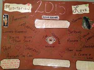 Camilla's Vision Board 2015