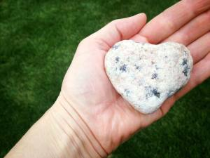 Heart Shaped Rock Heed the Call of Love 2017