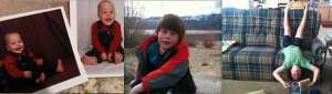 Thomas 7th Birthday Collage