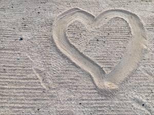 heart in the sand november 2018