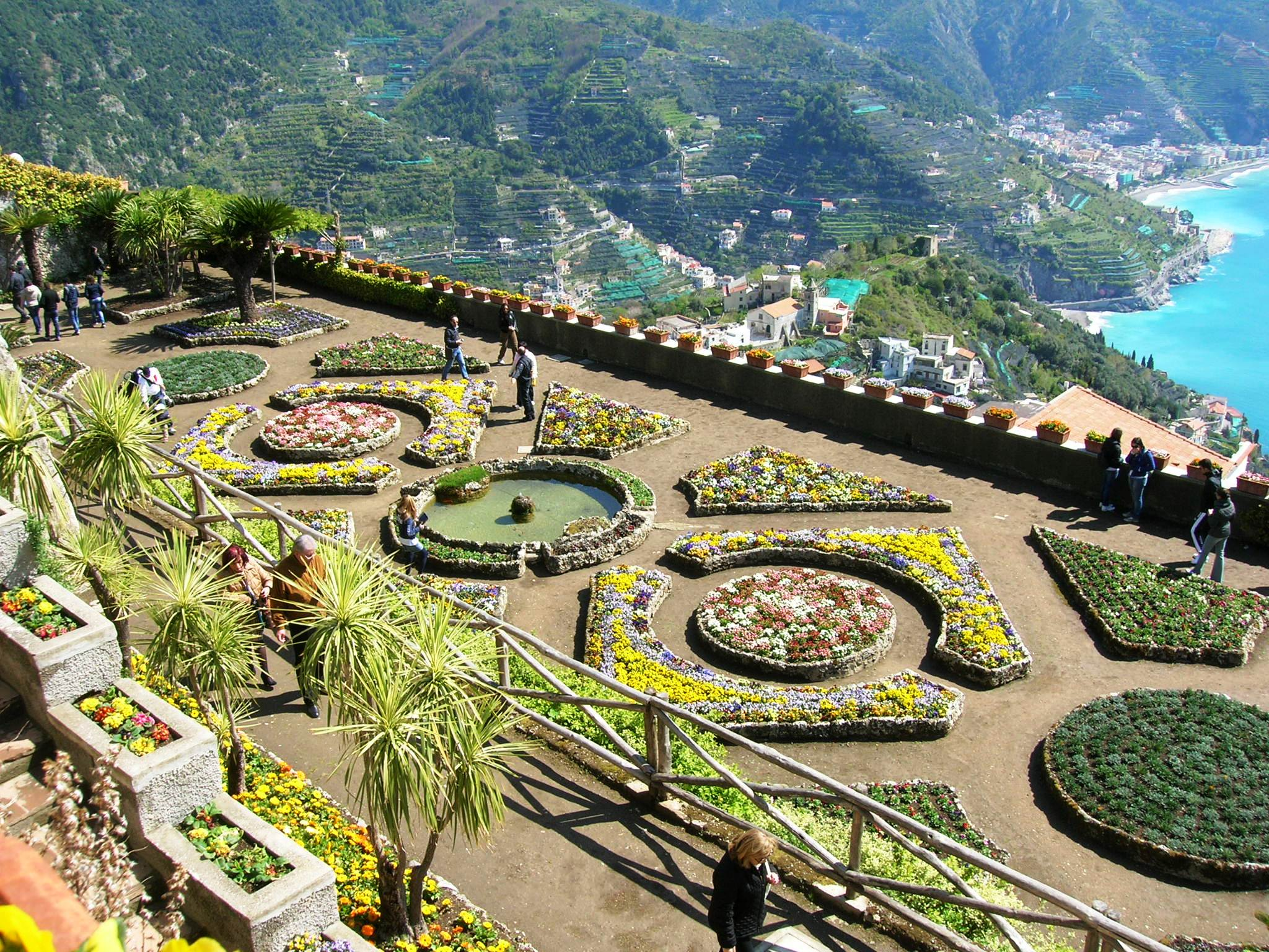 The cultural district of Ravello